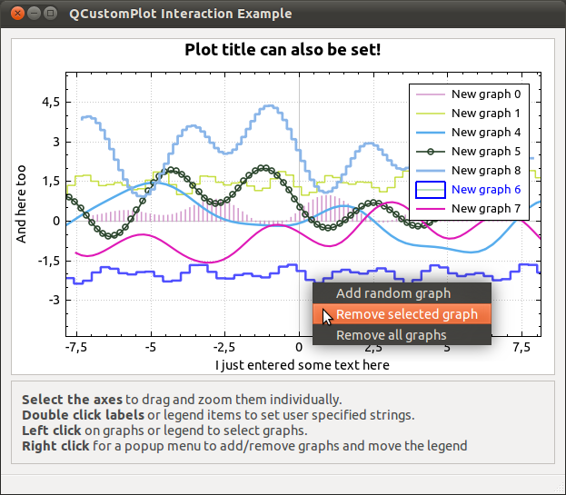 Qt Plotting Widget QCustomPlot Download - oukas info